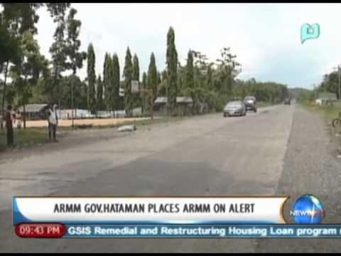 NewsLife: ARMM Gov. Hataman places ARMM on alert     September 9, 2013