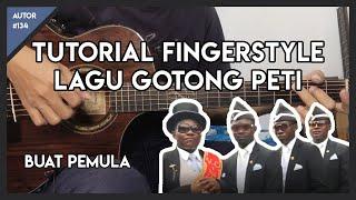 Download lagu TUTORIAL GUITAR FINGERSTYLE - COFFIN DANCE   UNTUK PEMULA