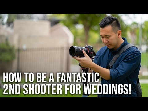 How to be a FANTASTIC 2nd Shooter for Weddings! - Wedding Film Tutorial
