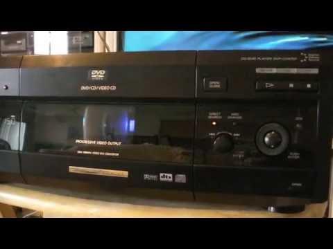Sony DVP-CX875P DVD Player ,  DVD/CD 300 Disc's Player