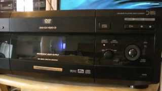 Sony DVP-CX875P DVD Player ,  DVD/CD 300 disc's Player