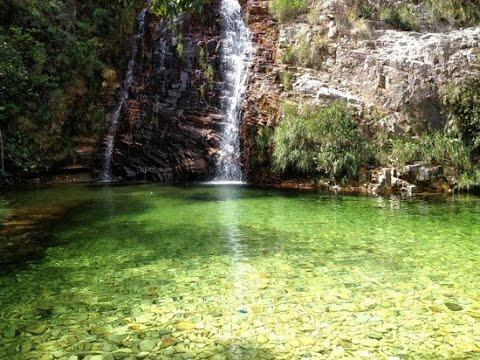 Cachoeira Lagoa Azul - Capitólio MG - vídeo 01/2011