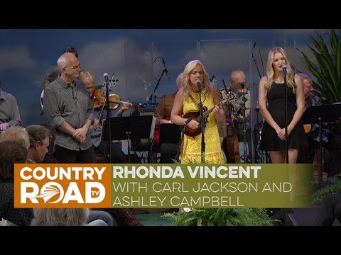 "Rhonda Vincent sings ""I'm Not Over You"""