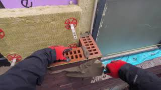 #Bricklaying Apartments 4th Floor Mast Climber PART 1