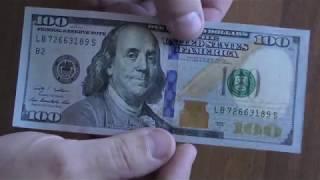 видео фальшивые доллары