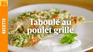 Recettes Delhaize €3 - Taboulet au poulet grillé