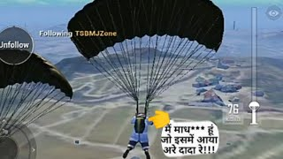 Paragliding funny video on pubg