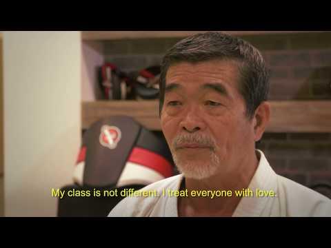 Master Yoshizo Machida interview Portuguese w/ English sub-titles