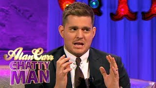 Michael Bublé Has A Bit Of A Potty Mouth | Full Interview | Alan Carr: Chatty Man