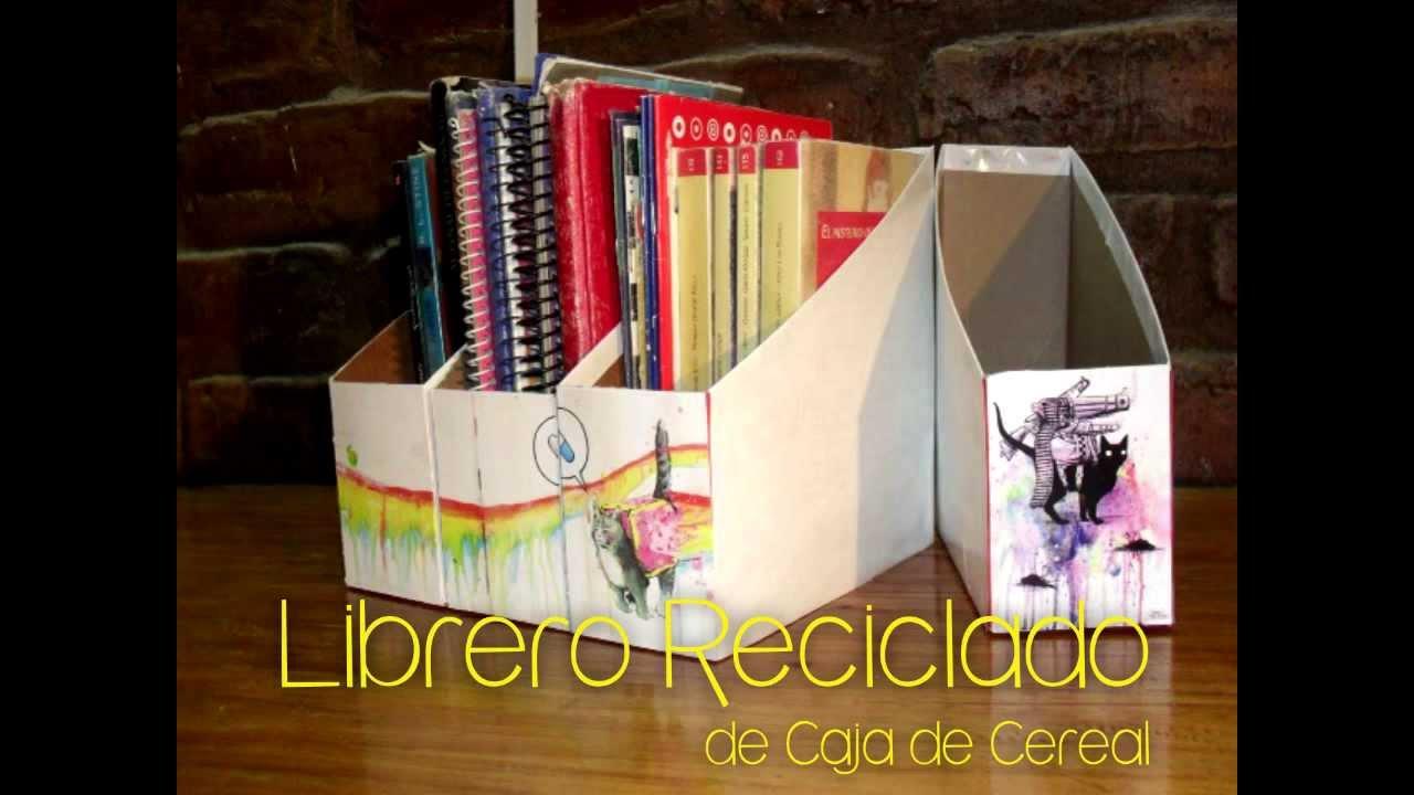 Librero Reciclado Bruja Creativa Youtube