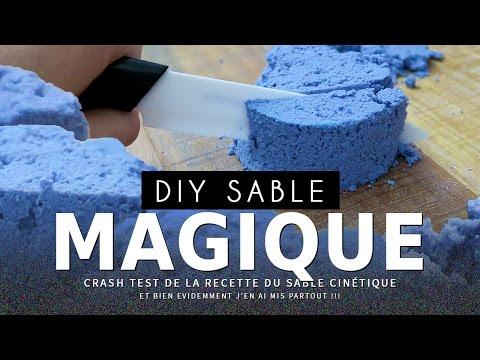 comment faire du sable magique kinetic how to make ki doovi. Black Bedroom Furniture Sets. Home Design Ideas