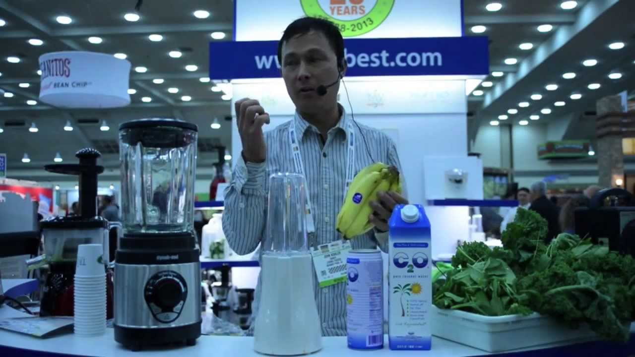 How to Make a Green Smoothie in the Dynablend Blender using 3 ...