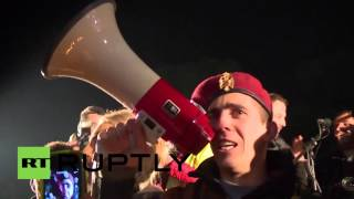 Montenegro: Thousands rally against plans for NATO integration