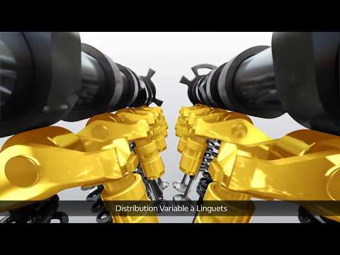 2018 Renault 1.3 Energy TCe engine - Distribution extract