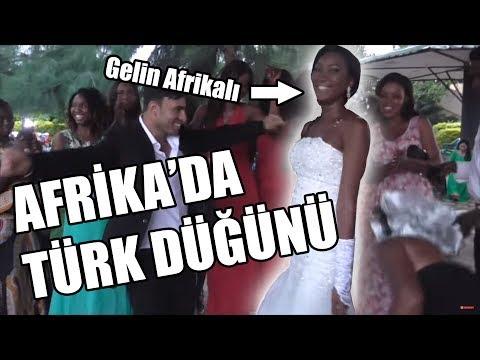 African Wedding Celebration With Turkish Boy
