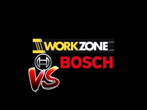 BOSCH cordless drill VS cheap Workzone - IS IT WORTH IT?