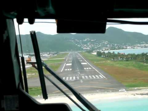 Flight from St. Maarten (SXM) to Saba Airport via St. Eustatius Part 5
