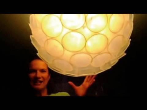 Plastic Cup Lamp Shade Threadbanger Contest Entry Youtube