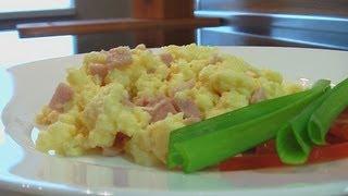 Взбитая яичница видео рецепт. Книга о вкусной и здоровой пище