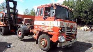 Foden S90 Haulmaster Extraction. (Warning contains industrial language).