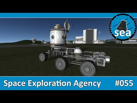 Space Exploration Agency - #055 - Designing a Mun Base Rover Trailer