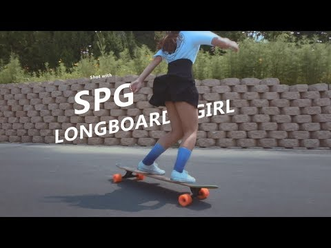 Awesome Longboard Girl Does Skateboard Dancing | FeiyuTech SPG