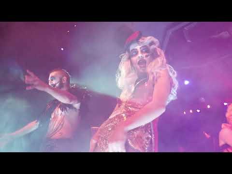 Ringmaster's Cabaret Ballroom Blitz mashup Six Flags Great America Fright Fest 10/14/18
