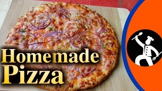 how to make no bake pizza at home