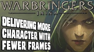 Delivering more character with fewer frame - Warbringers: Jaina    Animation discussion & analysis