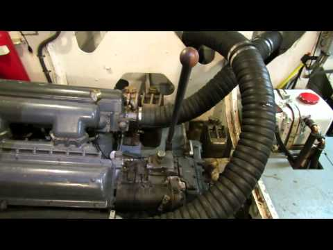 PT Boat Engine Room Walk-through Tour of Higgins PT658 in Portland OR