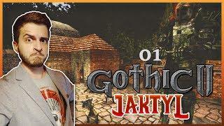 1#GOTHIC II NK - JAKTYL - TAJEMNICA CZARNEGO MAGA!