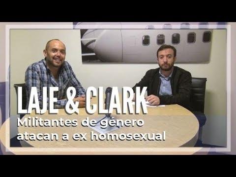 Militantes de género atacan a ex homosexual por Laje & Clark