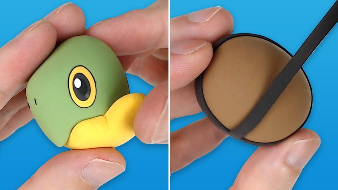 Pokémon Figures Making - Turtwig!!   Clay Art