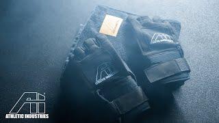 Die Fitnesshandschuhe mit integrierter Zughilfe und Magneten - ATHLETIC INDUSTRIES Liftgloves LG1