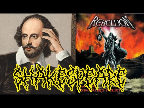 Macbeth meets metal! (Shakespeare's Macbeth — A Tragedy in Steel, by metal band Rebellion) mp3