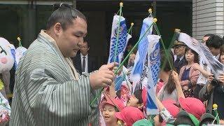 来月5日の「こどもの日」から始まる児童福祉週間を前に、東京・霞が関の...