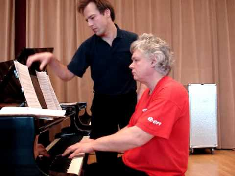 Piano lesson with Zoltan Kocsis - Rachmaninov 2nd piano concerto - Zongoraóra Kocsis Zoltánnal