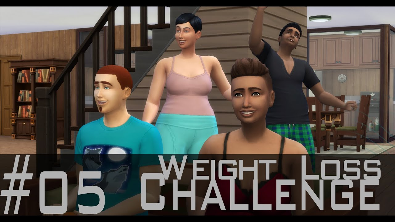 how to lose weight sims 4
