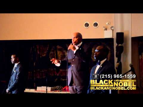 Bro Philip Muhammad at the National Black Theatre