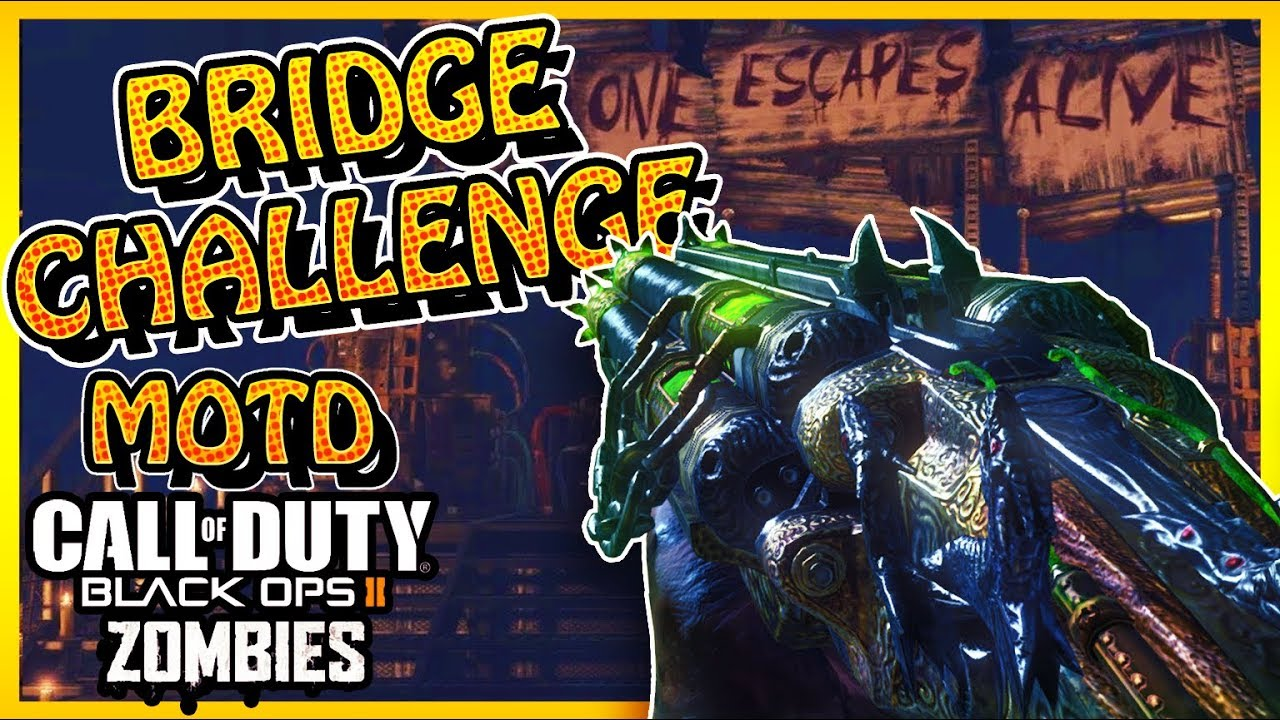 """MOB OF THE DEAD"" BRIDGE CHALLENGE! (Call of Duty BO3 Zombies) - YouTube"