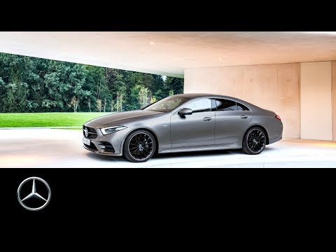 Mercedes-Benz reveals the new CLS 2018  LA Auto Show
