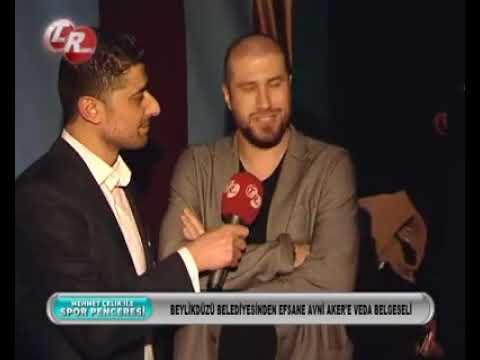 Efsane Avni Aker'e Veda Belgeseli Gala Gecesinde Eski Futbolcularımızdan Mehmet