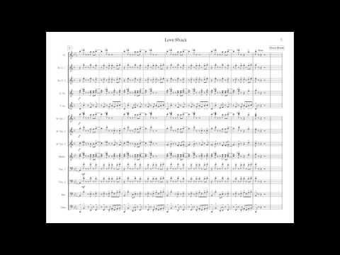 Love Shack - Marching Band Arrangement