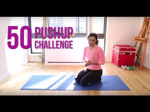 Nalini Arms 50 Push Up Challenge Youtube