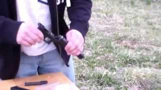 lone wolf barrel glock 20 .40 cal conversion test