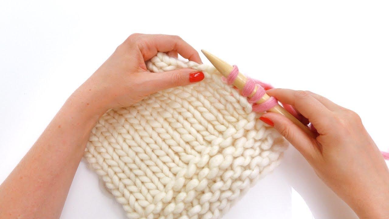 Comment reprendre des mailles sur un tricot