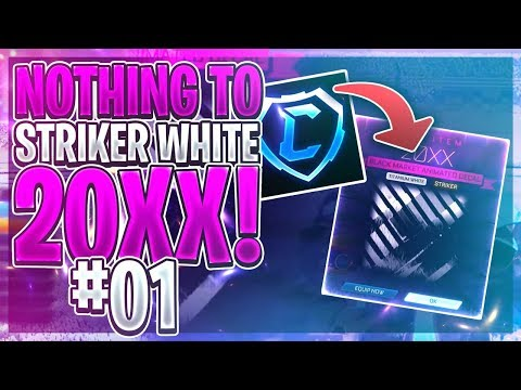 *NEW* TRADING FROM NOTHING TO STRIKER WHITE 20XX! *EP1* | HOW TO GET YOUR FIRST BLACK MARKET!