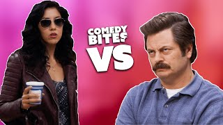 Rosa VS Ron | Brooklyn Nine-Nine VS Parks & Recreation | Comedy Bites