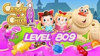 Candy Crush Soda Saga Level 809
