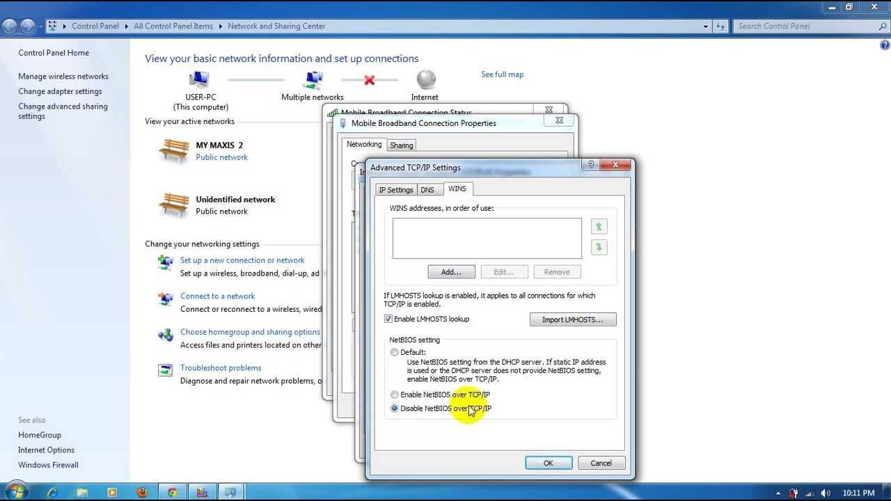FAILED ACCESS NETBT WINDOWS 7 X64 DRIVER